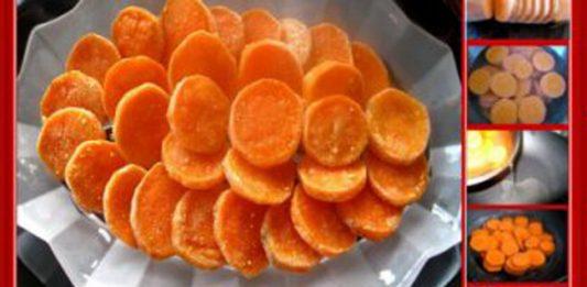 Cách làm mứt khoai lang đơn giản tại nhà