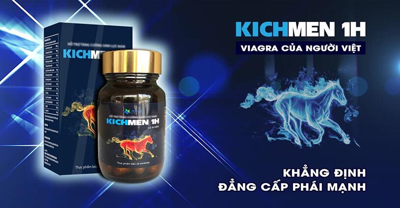 Thuốc Tăng cường sinh lý Kichmen 1h