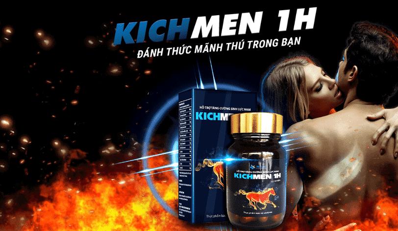Kichmen 1h là gì? Thành phần và Tác dụng của KICHMEN 1h