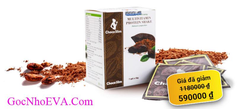Giảm cân Choco Slim giá bao nhiêu tiền?