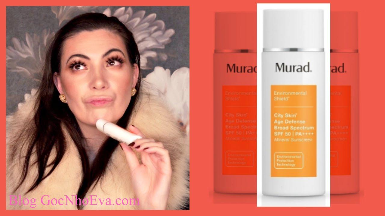Mỹ phẩm chống lão hóa - Murad City Skin Broad Specrum SPF 50 PA++++