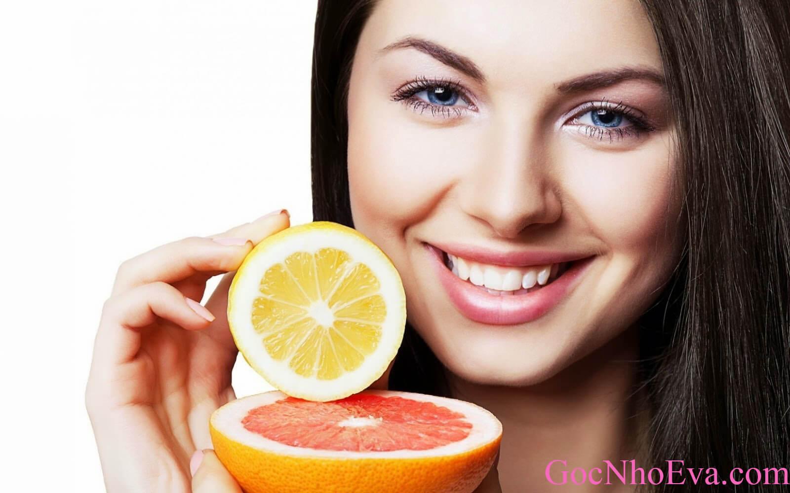 Thuốc uống đẹp da chống lão hóa - Vitamin C