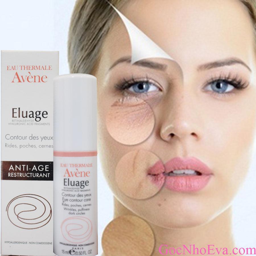 kem trị nếp nhăn vùng mắt Avène Eluage Eye Contour Care