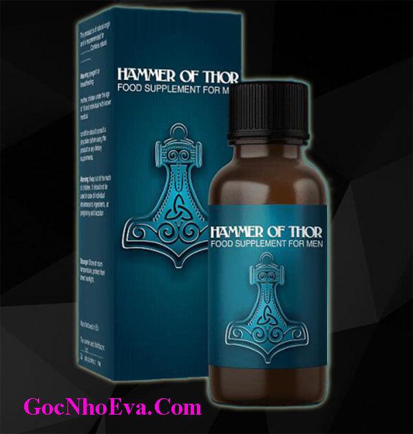 Giọt dưỡng chất Hammer Of Thor tăng cường sinh lý nam