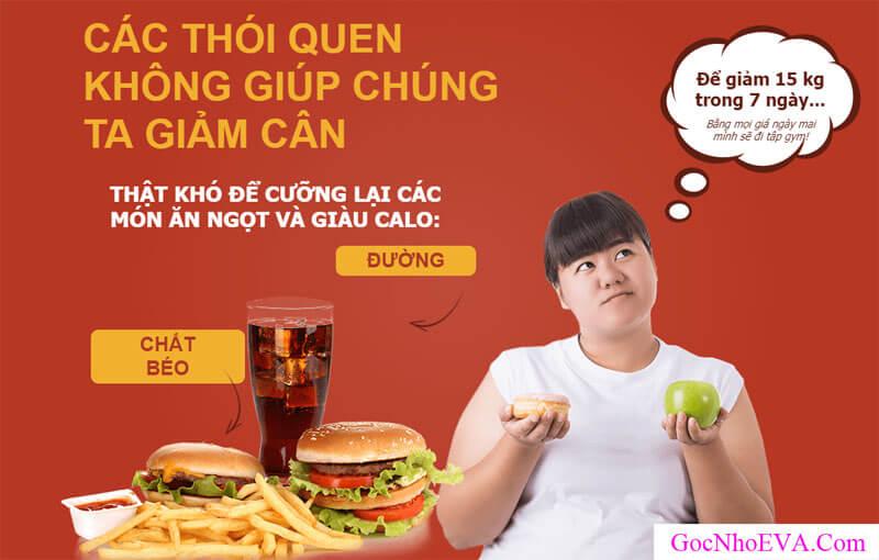Nguyên nhân của việc béo phì, thừa cân