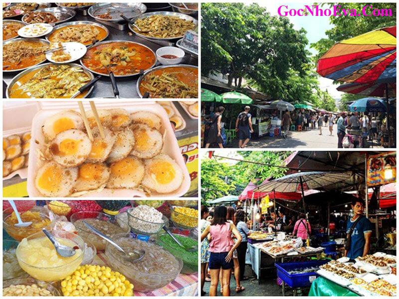 Du lịch Thái Lan với ẩm thực phong phú