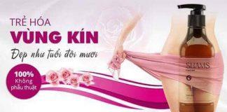 Dung dịch vệ sinh phụ nữ Shams nhập khẩu Hàn Quốc