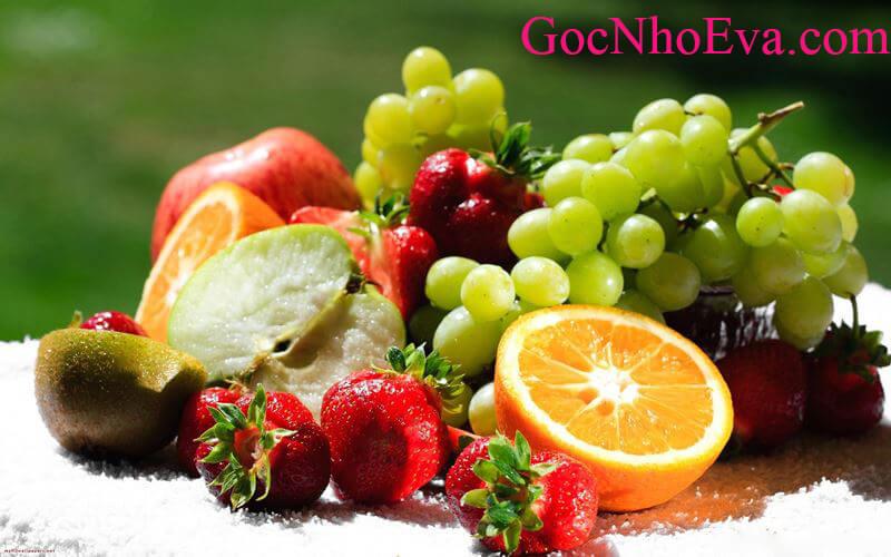 phương pháp giảm cân trong 1 tuần với hoa quả