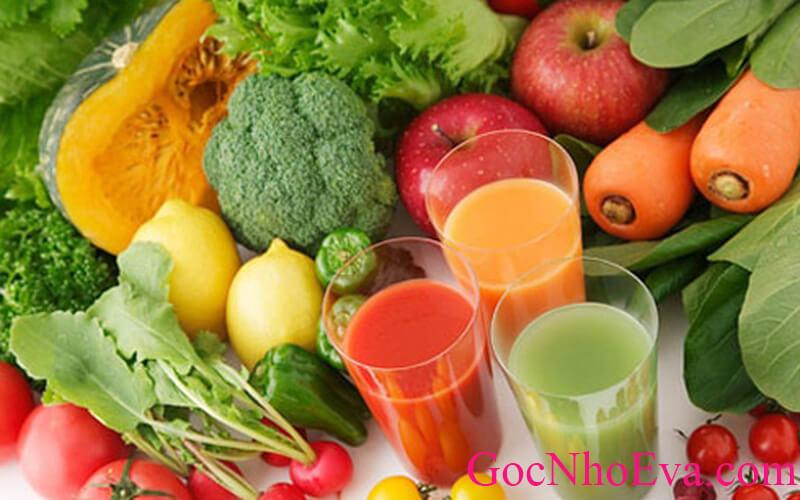 cách giảm mỡ bụng trong 1 tuần rau củ quả