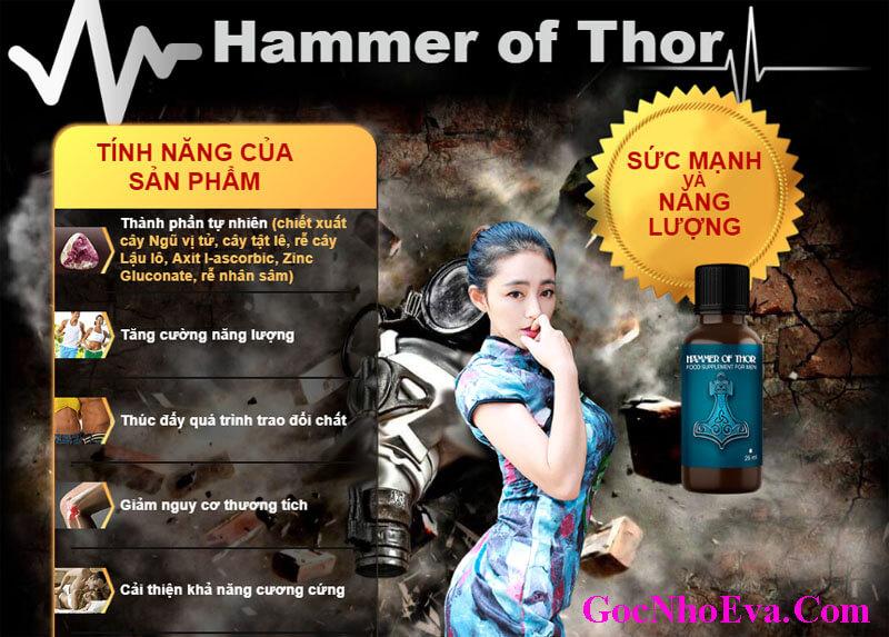 Thực phẩm chức năng tăng cường sinh lý nam Hammer Of Thor