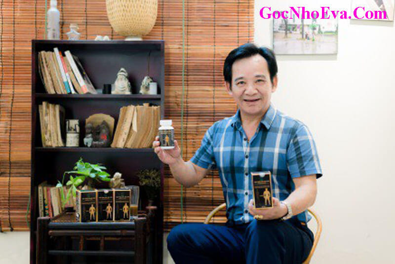 Nghệ sỹ ưu tú Quang Tèo sử dụng sản phẩm viên tăng cân hoa bảo