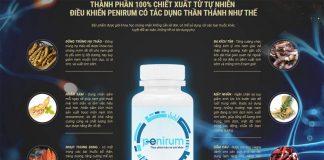 Thành phần viên uống tăng sinh lý Penirum