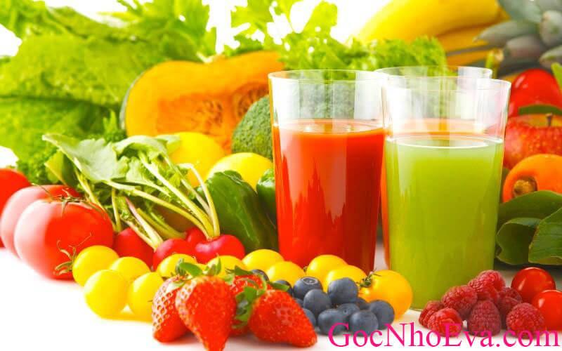 chế độ giảm cân với nam cần đủ hoa quả rau xanh