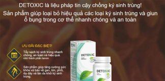 Thuốc Detoxic chính hãng chống ký sinh trùng hiệu quả