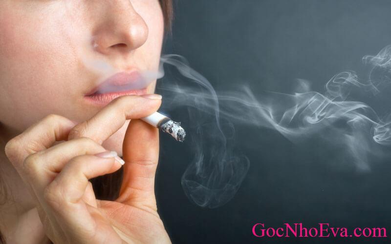 Tránh xa việc hút thuốc hay sử dụng chất kích thích