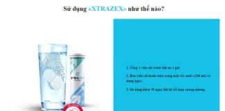 Hướng dẫn cách sử dụng Xtrazex hiệu quả