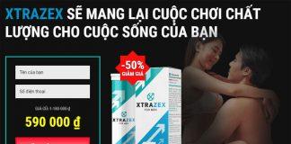 Xtrazex chính hãng giá niêm yết tại nhà sản xuất