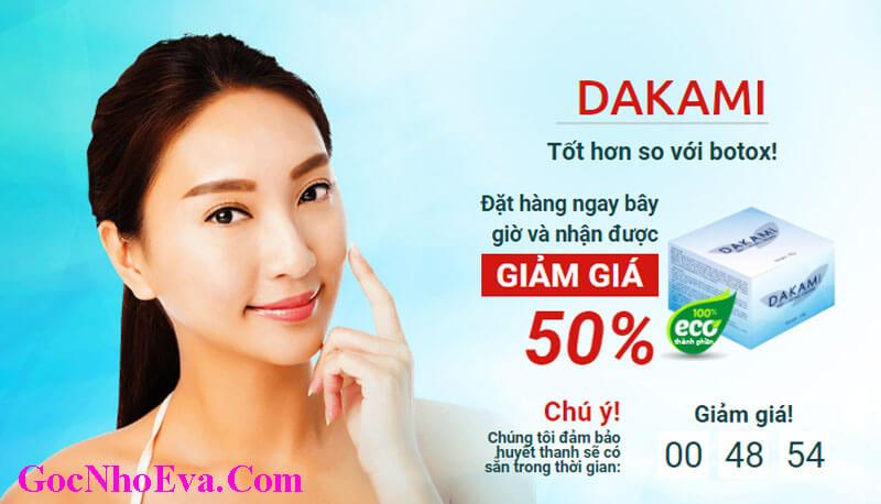 Kem chống lão hóa Dakami chính hãng