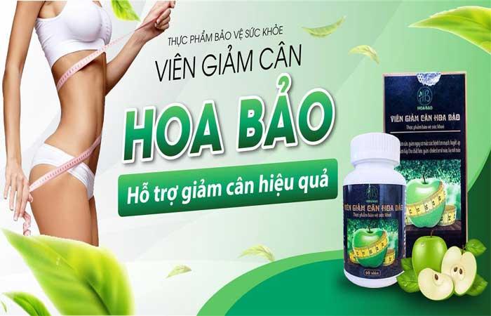 Viên uống giảm cân Hoa Bảo chính hãng