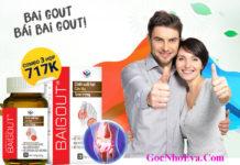 Thuốc chữa bệnh Gut BaiGout giá bao nhiêu?