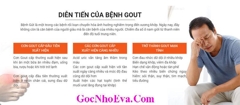 Tác hại và sự nguy hiểm của bệnh Gout
