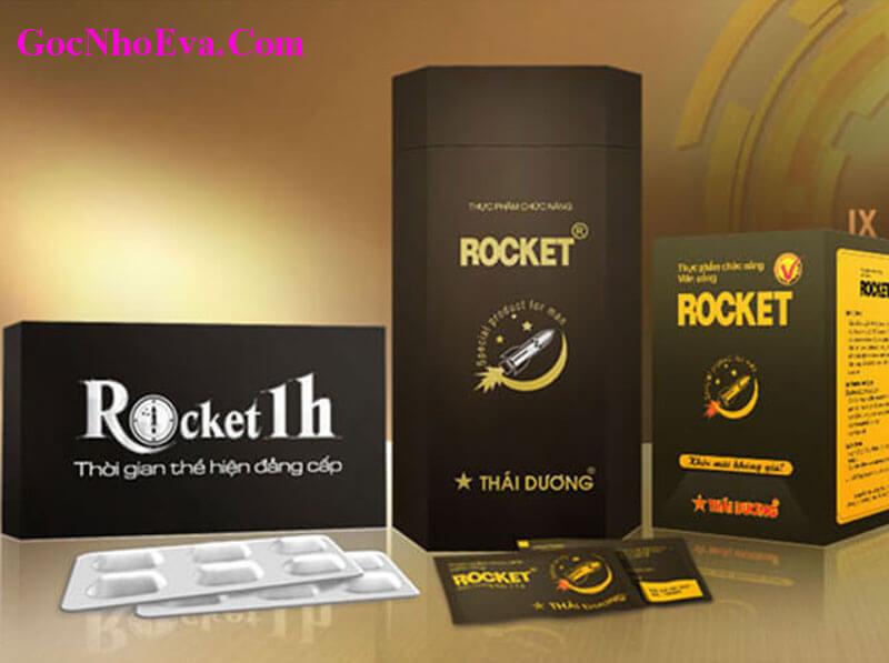 Thuốc tăng cường sinh lý nam Rocket 1h chính hãng