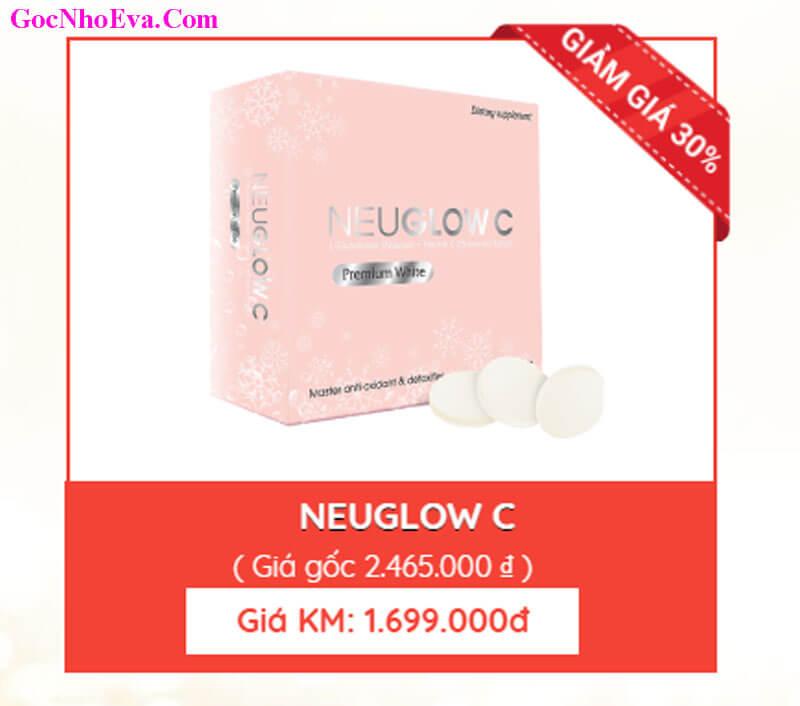Viên sủi trắng da Neuglow C ưu đãi giảm giá 30% cho khách hàng