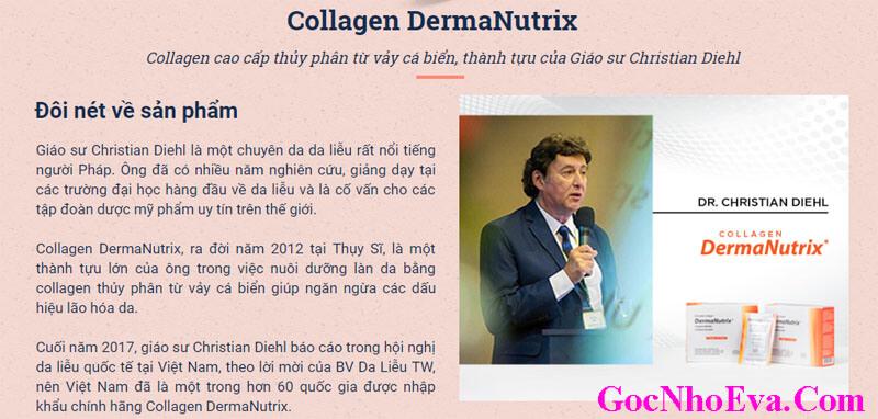 Nguồn gốc xuất xứ Collagen DermaNutrix Chính Hãng Nhập Khẩu