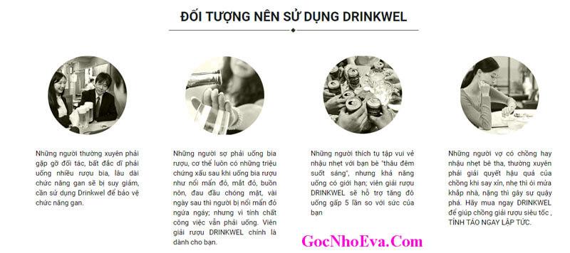 Cảm nhận khách hàng sau khi sử dụng DrinkWel
