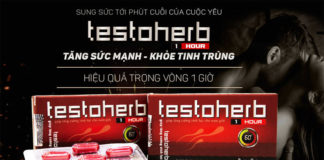 Thuốc Testoherb 1hour có tốt không? Mua ở đâu? Giá bao nhiêu?