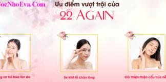 Ưu điểm kem chống lão hóa Hàn Quốc 22 Again