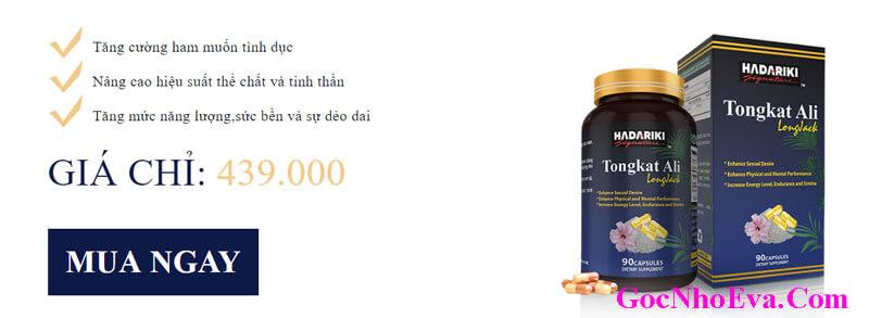 Nhà sản xuất thuốc Tongkat Ali Giảm Shock