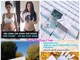 Giảm cân Hàn Quốc Genie Slim Recipe