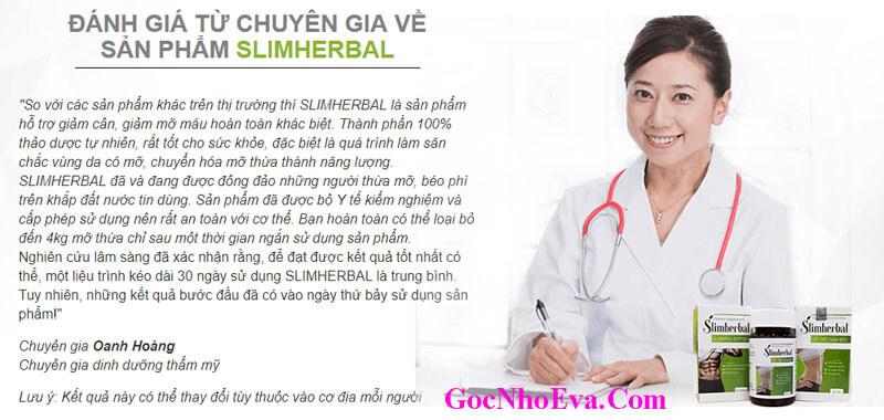 Đánh giá chuyên gia về thuốc giảm cân Slimherbal