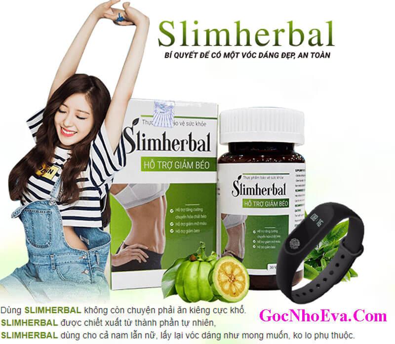 Thuốc giảm cân Slimherbal ưu đãi khuyến mãi siêu Shock