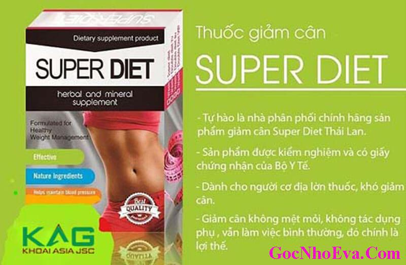Thuốc giảm cân Thái Lan Supper Diet chính hãng