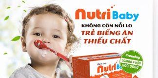 Cốm vi sinh Nutribaby chính hãng