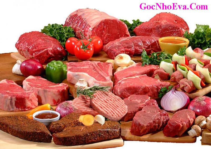 Thịt đỏ giúp tăng số lượng và chất lương tinh trùng