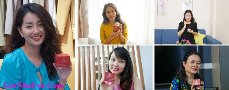 Hình ảnh khách hàng sử dụng mỹ phẩm Hera Youth Extend Chính Hãng