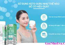 Hướng dẫn cách sử dụng giảm cân Keto Guru hiệu quả
