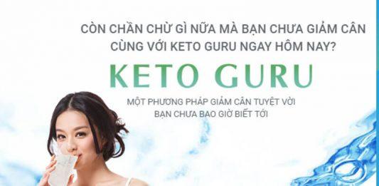 Viên sủi giảm cân Keto Guru chính hãng