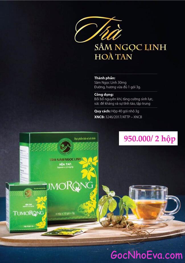 giá trà sâm ngọc linh