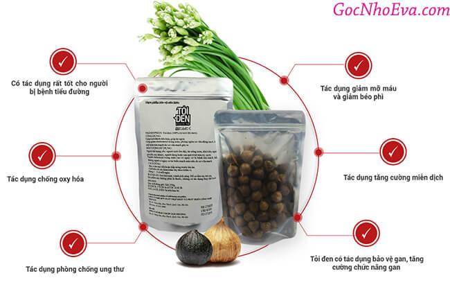 công dụng của tỏi đen Kochi
