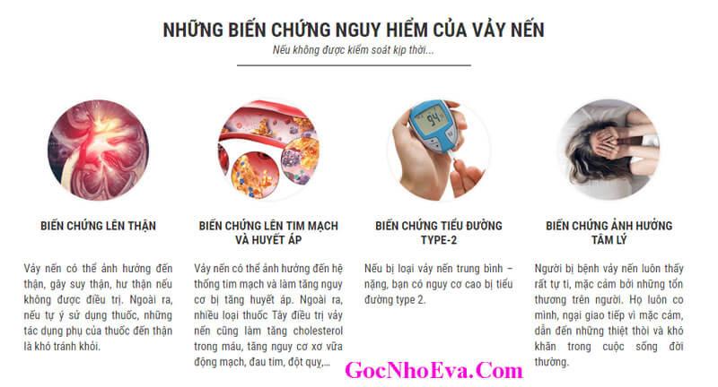 Tác hại và biến chứng của bệnh Vẩy Nến gây nên