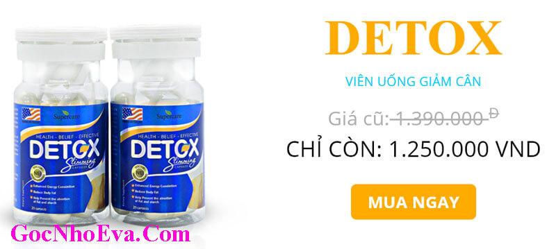 Viên uống Giảm cân Detox Slimming Capsules giảm giá Shock