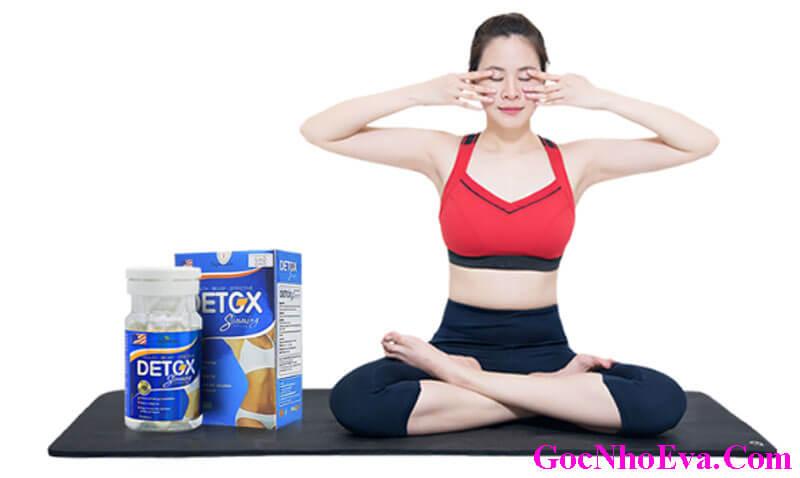 Giảm cân Detox Slimming Capsules tốt không? Mua ở đâu? Giá bao nhiêu?