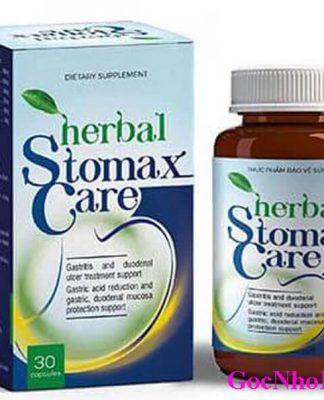 Herbal StomaxCare Chính Hãng Chữa Đau Dạ Dày