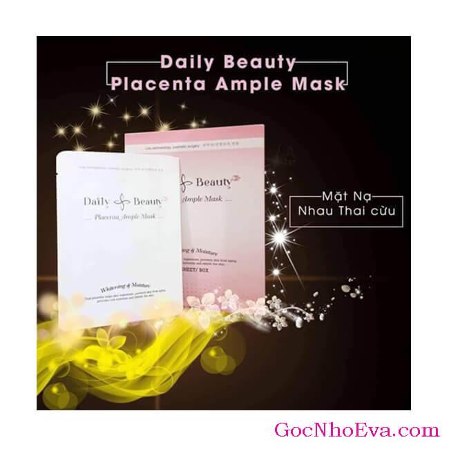 liệu trình sử dụng Mặt nạ Placenta ample mask