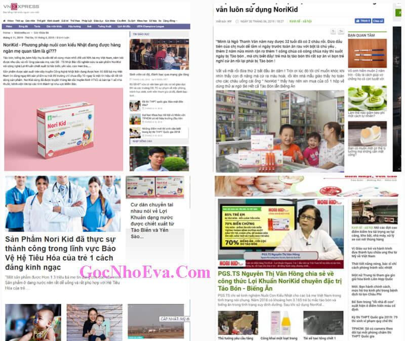 Báo chí nói gì về Norikid Organic 3 in 1