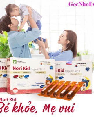 Lợi khuẩn Nori Kid Organic có tốt không? Giá bao nhiêu? Mua ở đâu chính hãng?